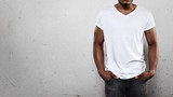 Man in white t-shirt - 73682943