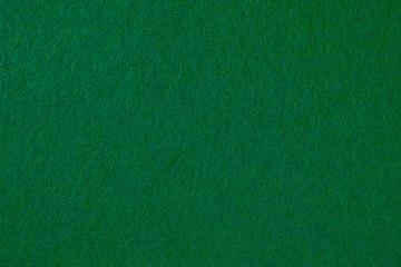 緑色のフェルト生地