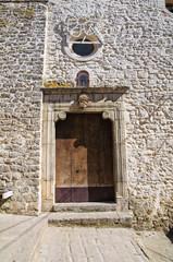 Church of St. Rocco. Cancellara. Basilicata. Italy.
