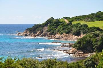 Côte Corse avec golf
