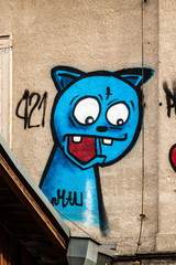 Graffiti Katze