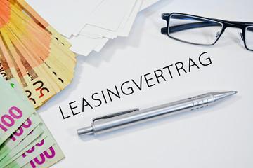 leasingvertrag