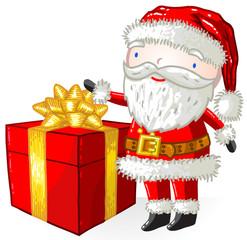 Père Noël cadeaux