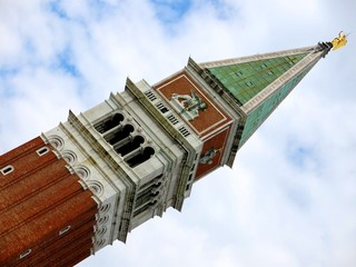 Campanile Tower Venice Italy