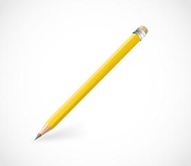 Realistic pencil vector