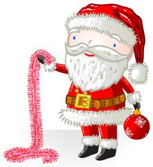 Père Noël guirlande
