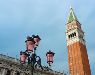 The Campanile in St. Mark's Square, Venice