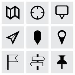 Vector check marks icons set
