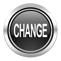 change icon, black chrome button