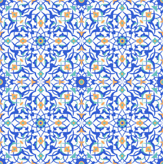 traditional floral islamic pattern