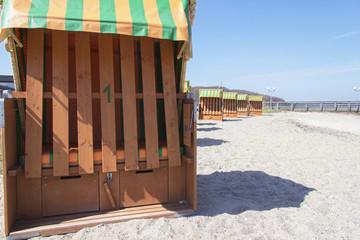 Strandkorbvermietung in Landballig
