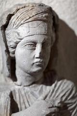 Portrait of a deceased woman