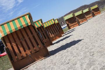 Strandkörbe zum Vermieten in Landballig