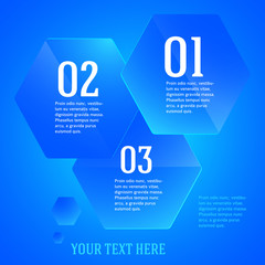 infographics-template-layout-presentation-blue-hexagon