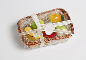 Basket of Frutta Martorana