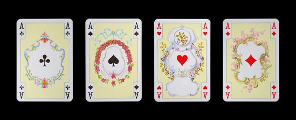 Spielkarten in Luxus und Nostalgie - ASS