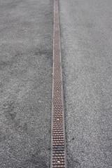 Strada asfaltata come sfondo