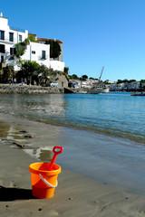 jeux de plage et Cadaqués