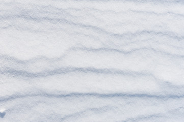 striped snow as background
