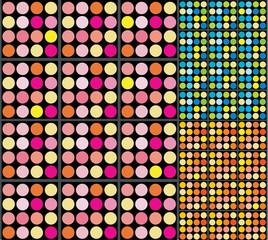 Retro Dots Background