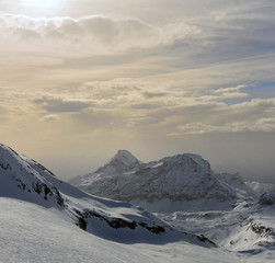 Valtournenche - Tramonto in alta quota