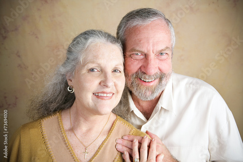 canvas print picture Beautiful Senior Couple - Christianity