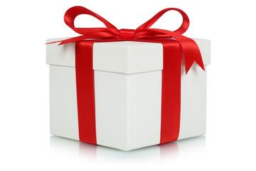Geschenk mit Schleife für Geschenke an Weihnachten, Geburtstag