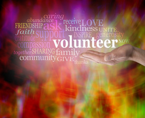 GIve Volunteering a Glow