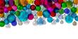 Banner christmas balls - 73697354