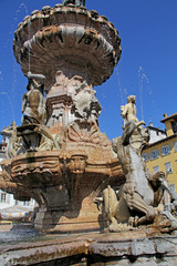 fontana del Nettuno, piazza Duomo, Trento