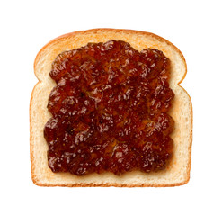 Fig Preserves on Toast