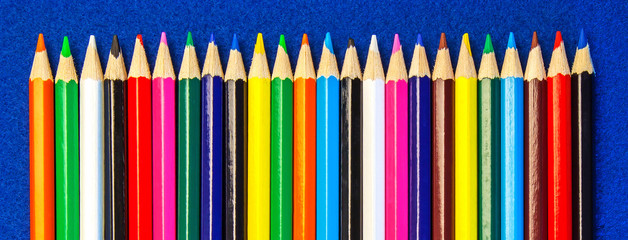 Color Pencil Crayons for Art and Crafts, Schools, Teaching.
