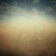 canvas print picture - Vintage Landscape Abstract Background XXL