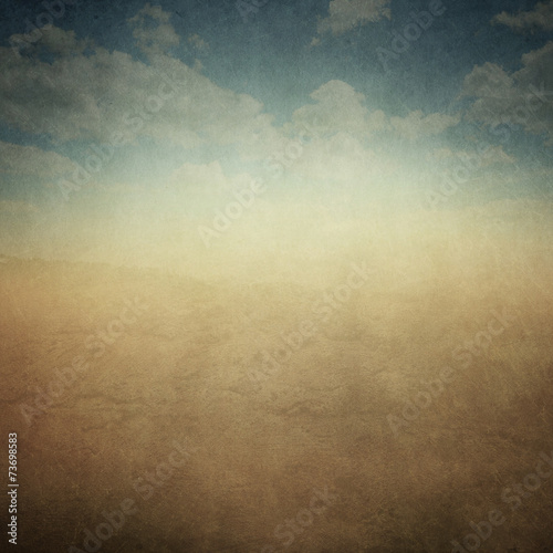 canvas print picture Vintage Landscape Abstract Background XXL