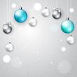 Light elegant Christmas background