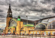 Hamburg central railway station - Germany