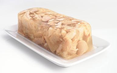 callus kept in a block of gelatine
