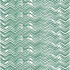 Seamless zigzag pattern in green