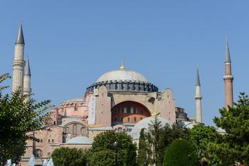 Hagia Sophia in Istanbul Turkey
