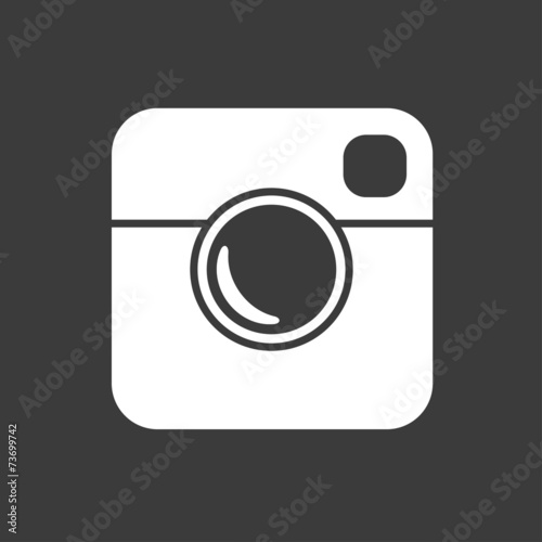Simple Hipster Photo Icon - 73699742