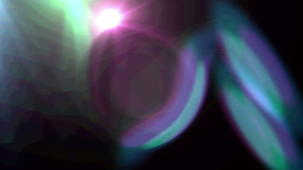 Abstract Light Effects Lens
