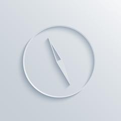 Vector modern compass background.