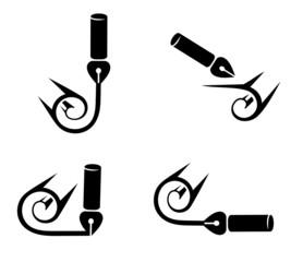 Символ пера и бумаги