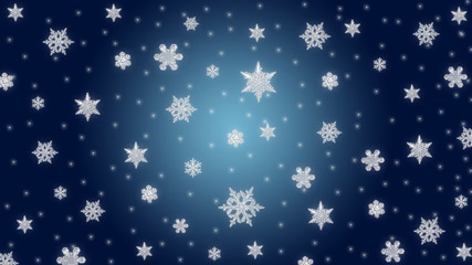 Starry Christmas Theme background