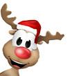 Reindeer Christmas Cute Animal
