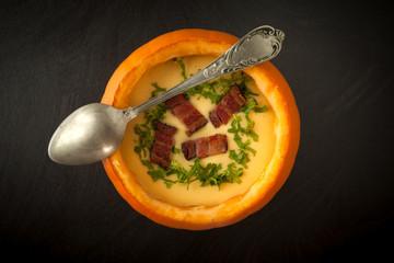 Pumpkin And Potatoes Soup