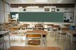 canvas print picture - 教室
