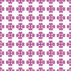 Striped pink flower
