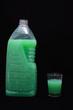 Green Shampoo Bottle