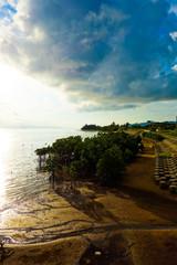 石垣島 名蔵湾の夕日